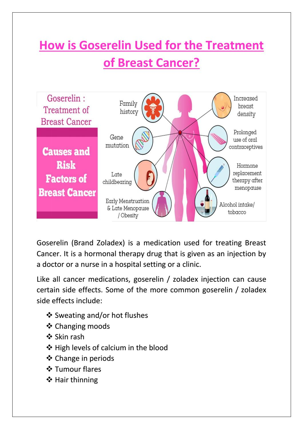 breast cancer hormonal causes)