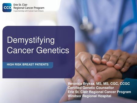 cancer genetic testing beaumont hospital