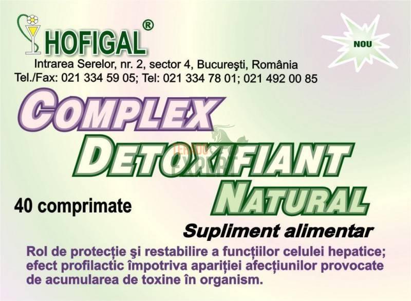complex detoxifiant natural hofigal pret)