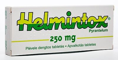 helmintox 125 mg tabletes