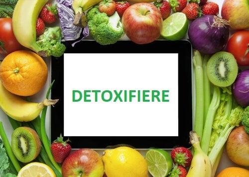 detoxifiere cu legume verzi)