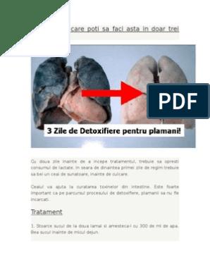 detoxifiere plamani