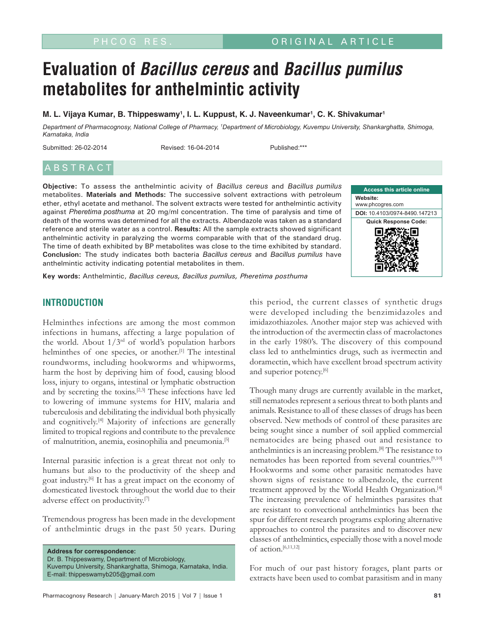New alternatives in veterinary anthelminthic therapy