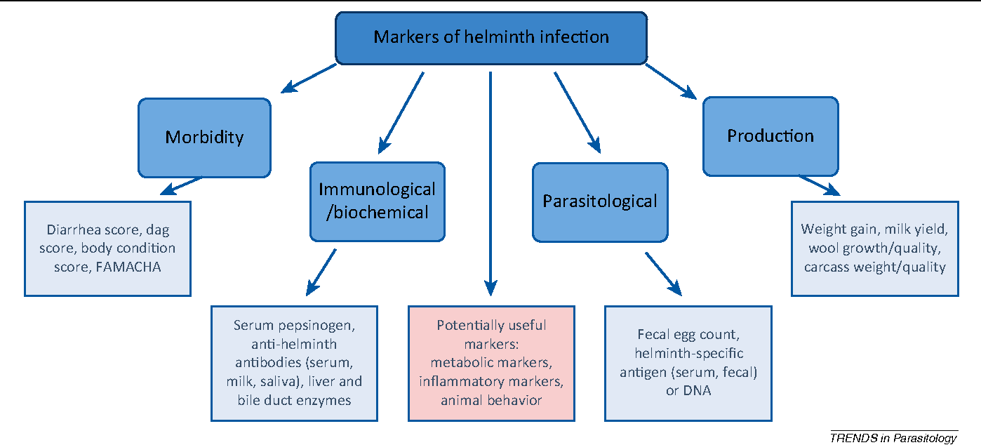 helminth infections farms)