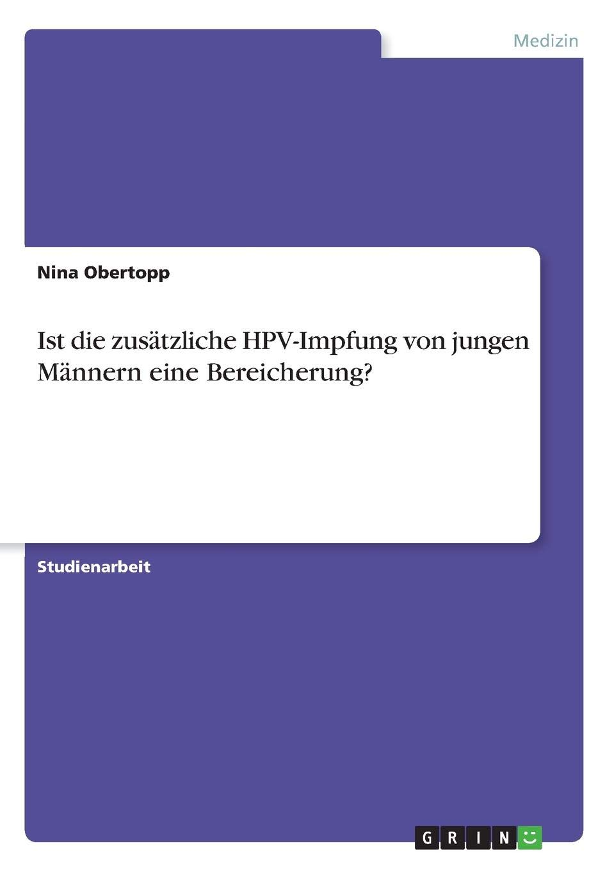 hpv impfung fur junge manner)
