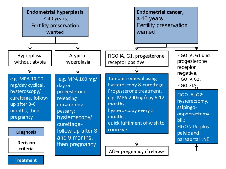 ovarian cancer vs endometriosis)