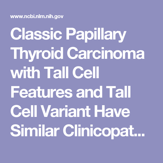 papillary thyroid cancer nih