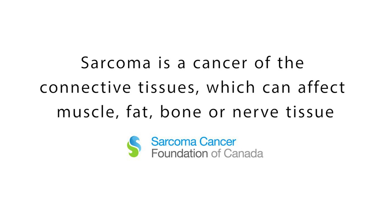 sarcoma cancer foundation of canada