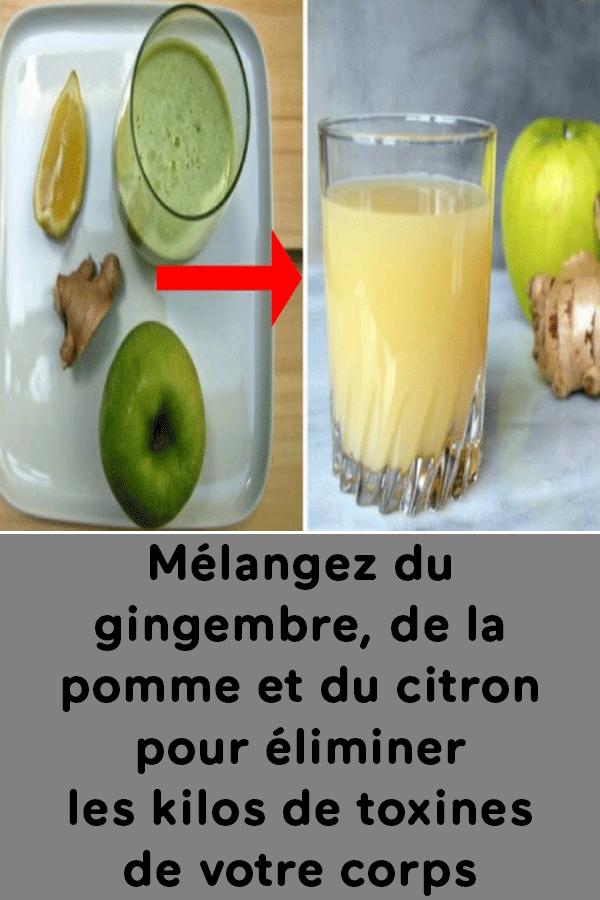 toxine jus de pomme)