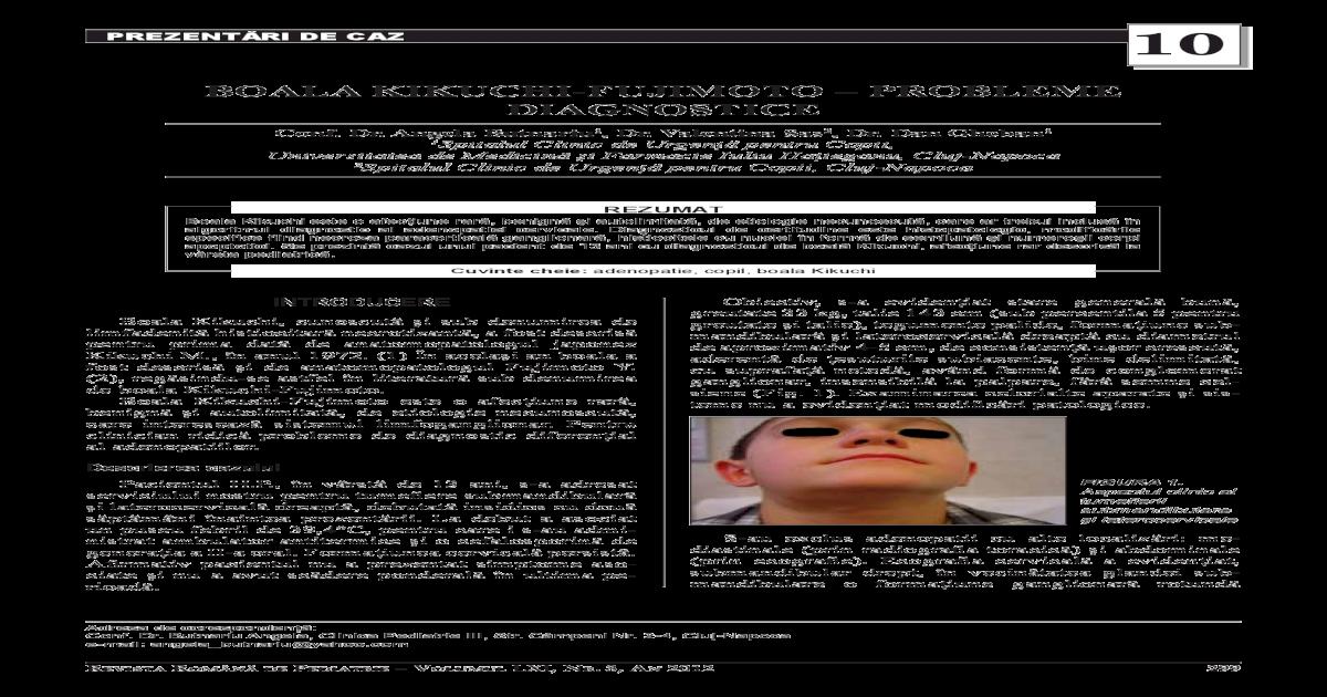 toxoplasmoza ganglionara)