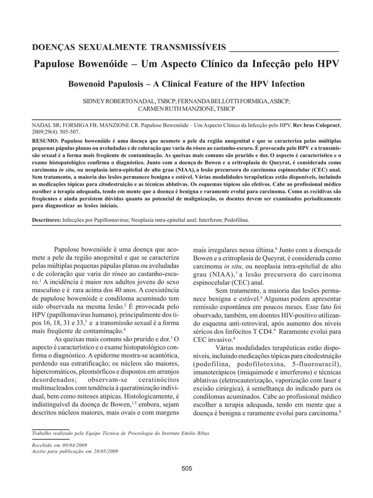 traitement lesions papillomavirus