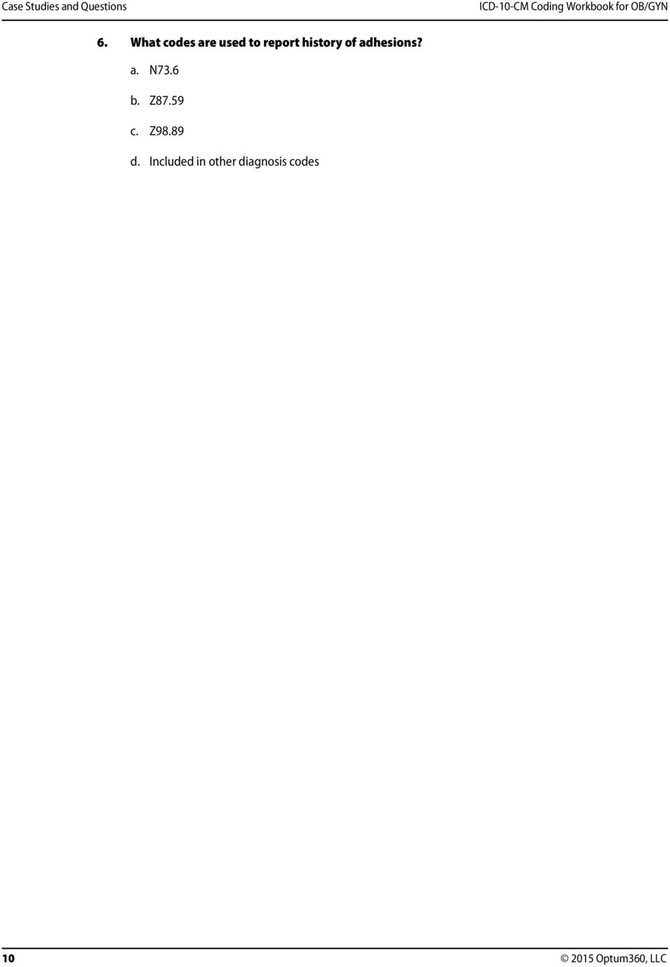 peritoneal cancer history icd 10
