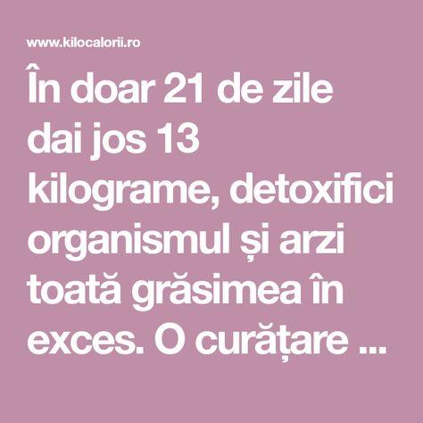 detoxifiere 21 zile)