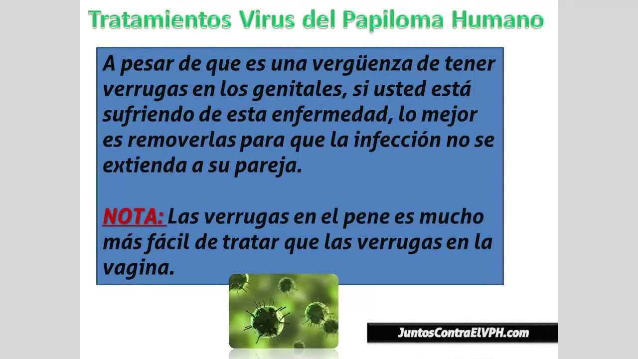 tratamiento para papiloma virus humano hombres)
