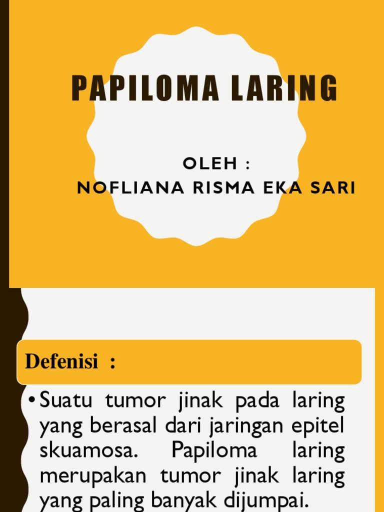 PLENO Modul 5 Blok 16 LO Papilloma Laring