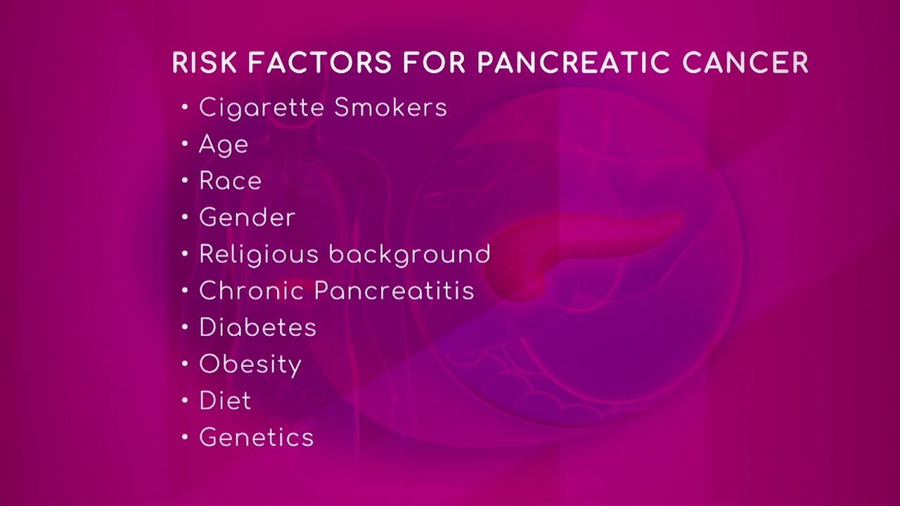pancreatic cancer risk factor cancer testicule varicocele