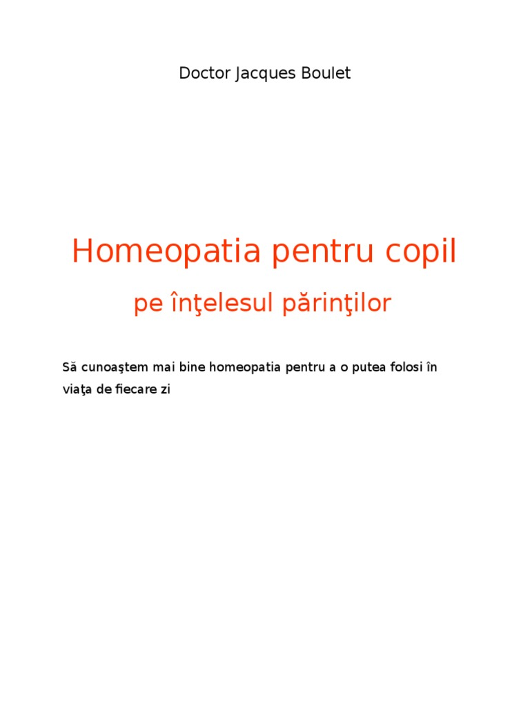 tratament homeopat oxiuri copii