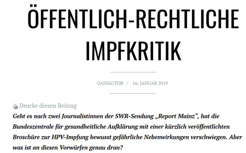 hpv impfung nebenwirkung 2019 papillomavirus manifestation