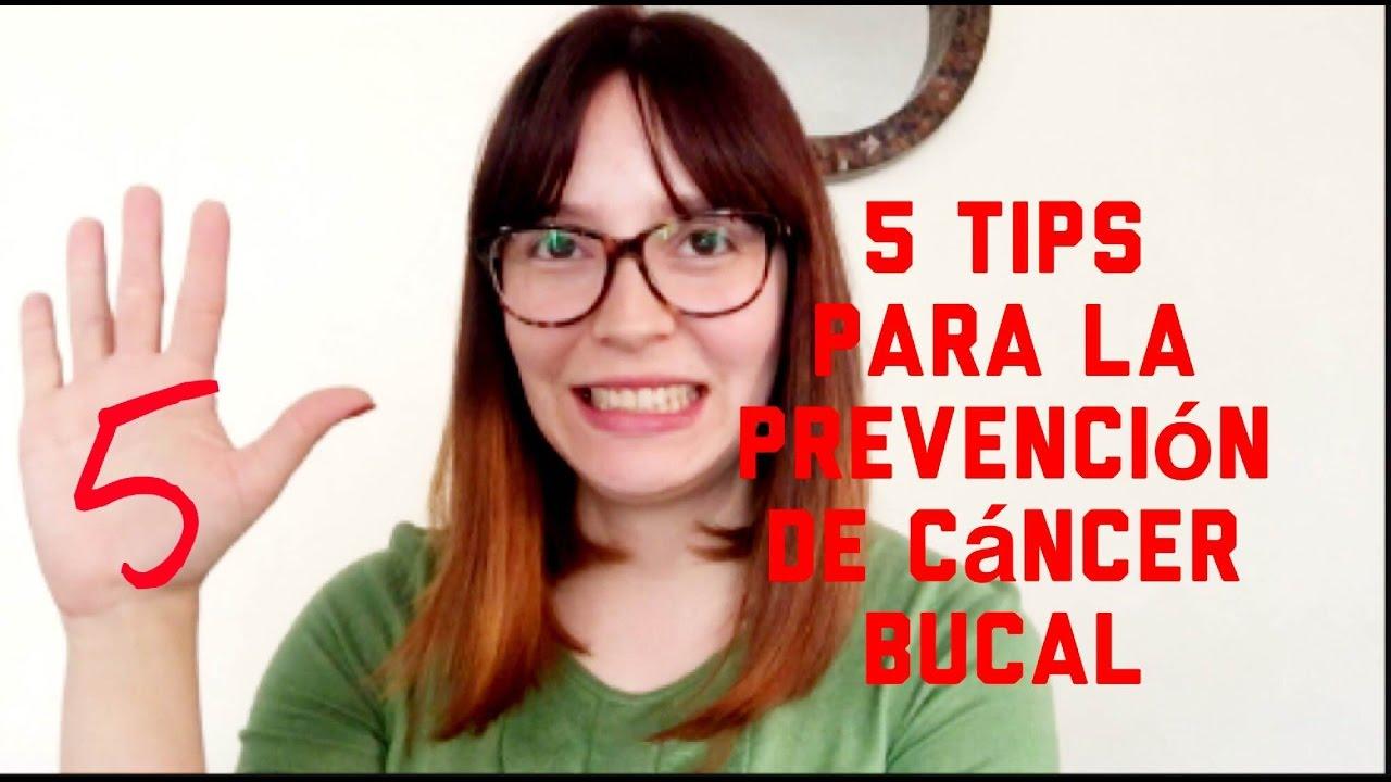 cancer bucal como prevenirlo)