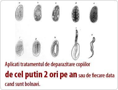 paraziti intestinali la bebelusi