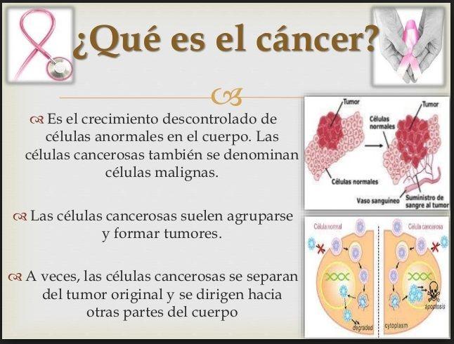 el cancer que es)