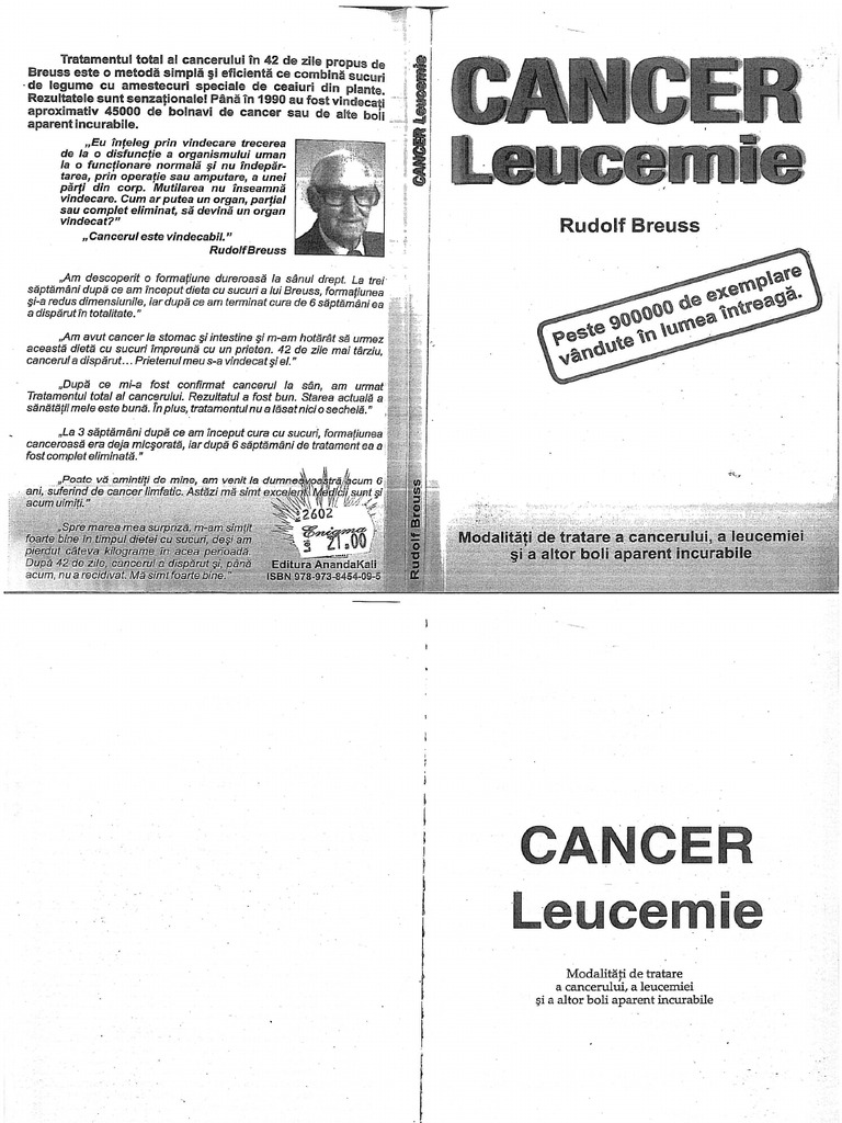 cancer limfatic leucemie)