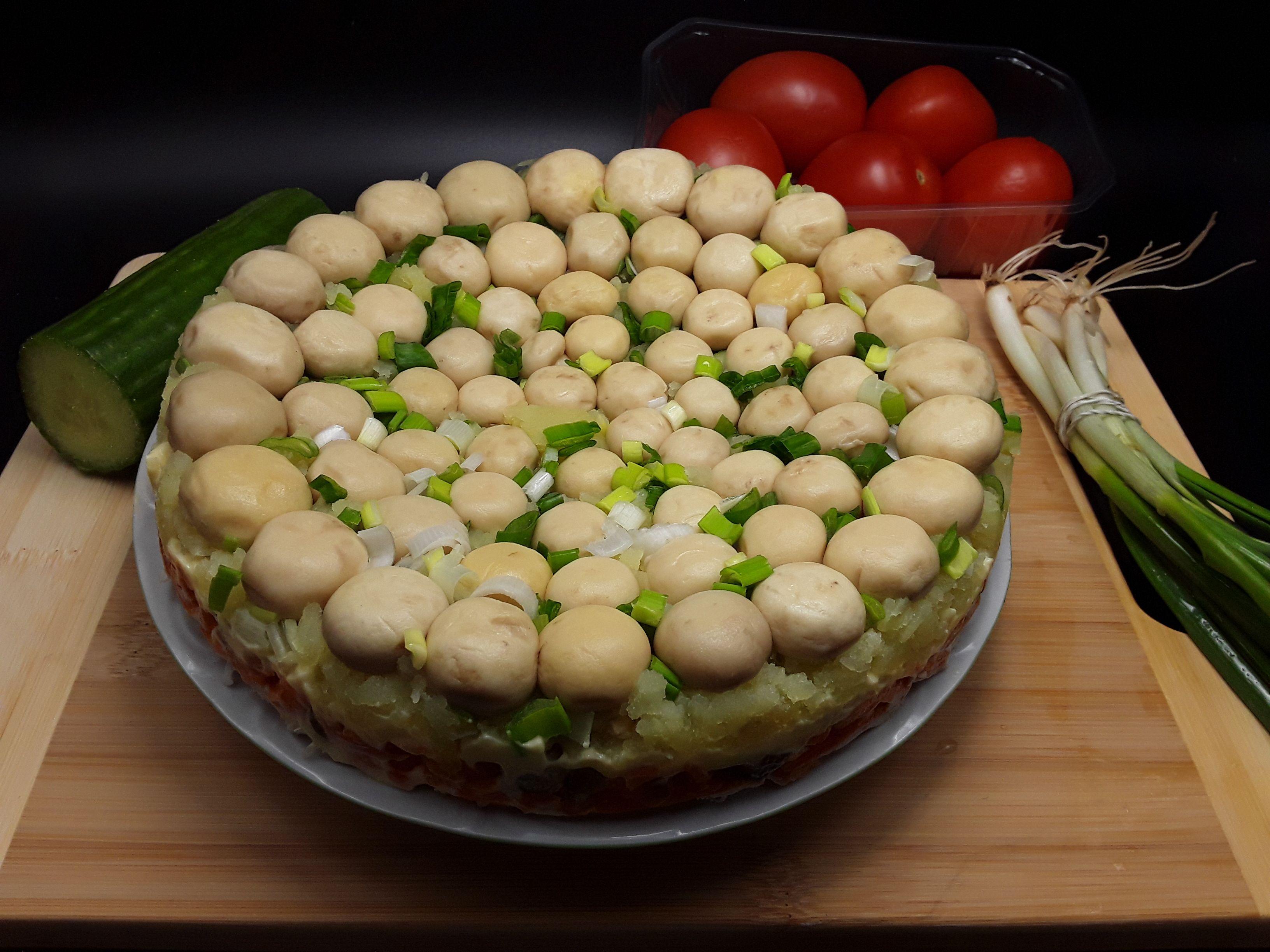Salata de ciuperci cu maioneza - un aperitiv festiv si rapid - simonacallas
