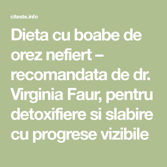 cure de detoxifiere si slabire