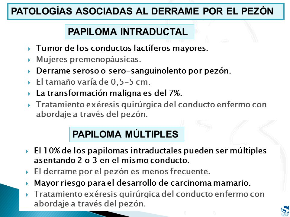 papiloma ductal tratamiento)