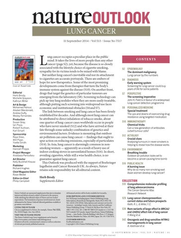 cancer pulmonar genetics)