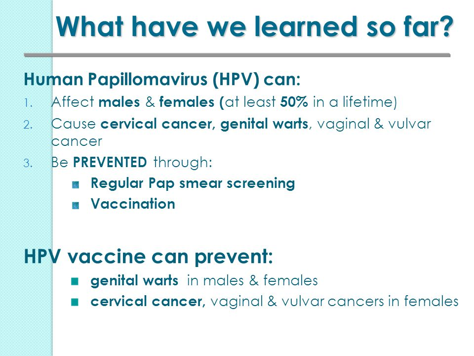 can hpv vaccination prevent cervical cancer
