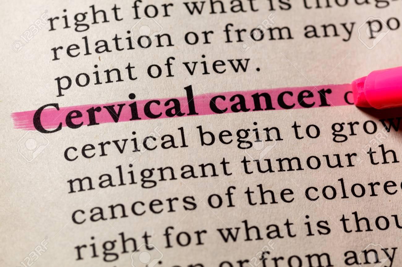 cervical cancer who definition)