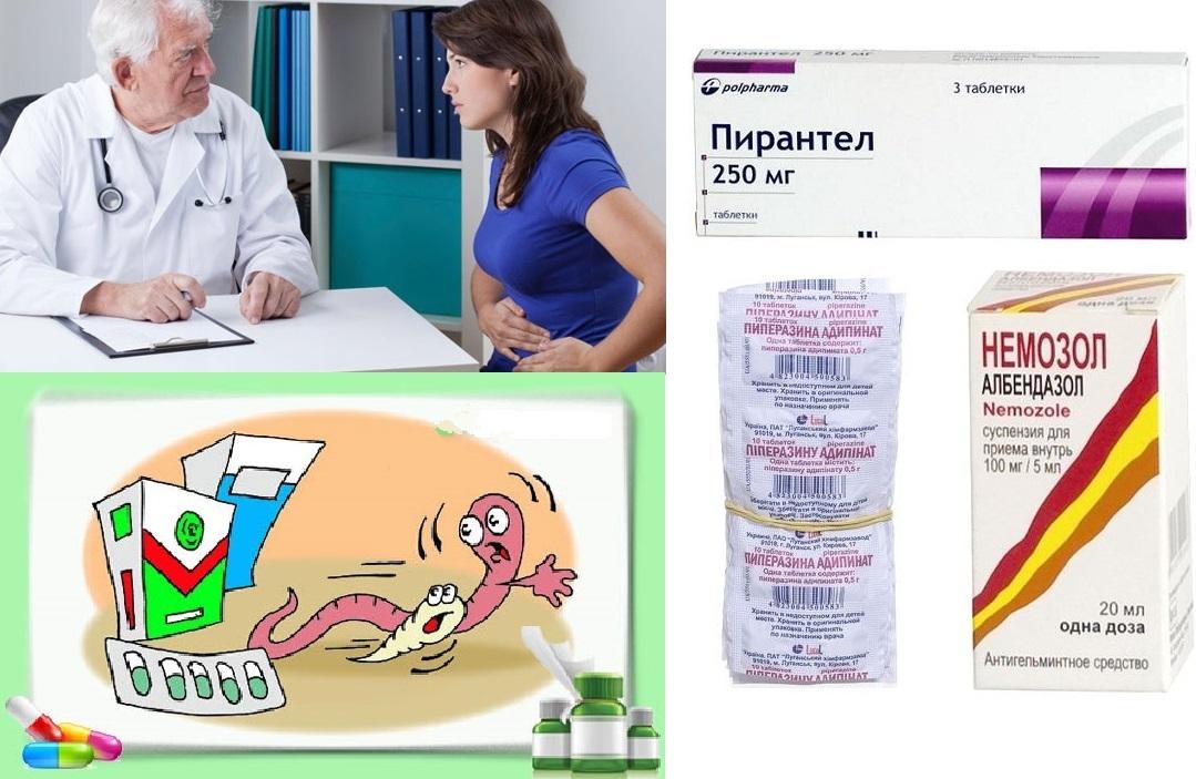 enterobiasis behandling)