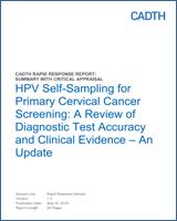 hpv and cervical cancer ncbi)