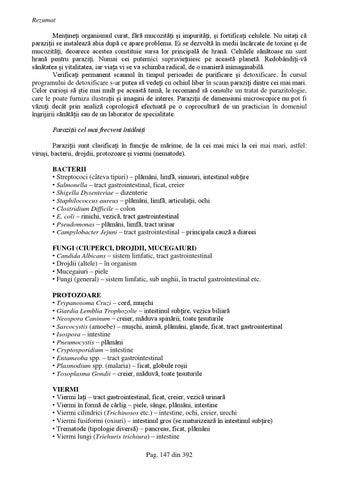 oxiuri in vezica urinara