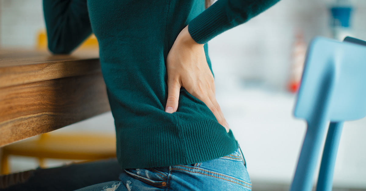 rectal cancer tailbone pain)