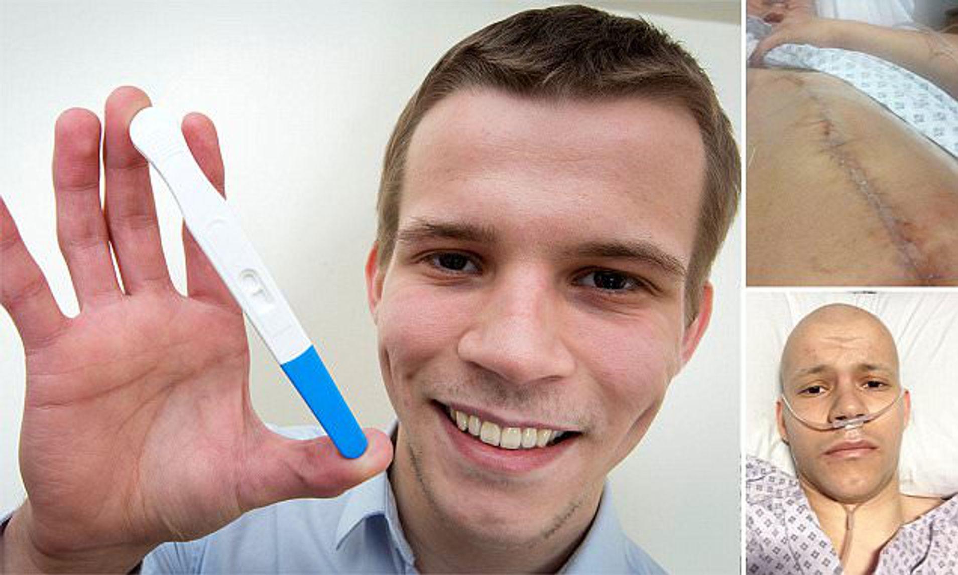 testicular cancer pregnancy test)